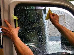 Auto Side Window Glass Replacement