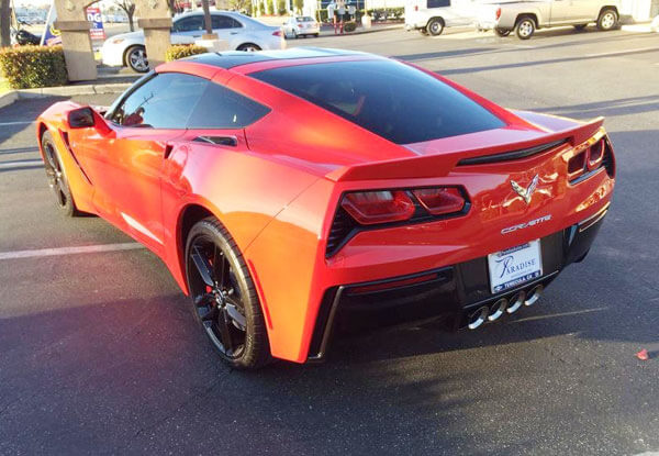 Best Window Tinting for Corvette